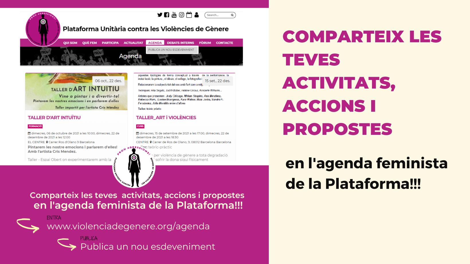 Agenda web plataforma